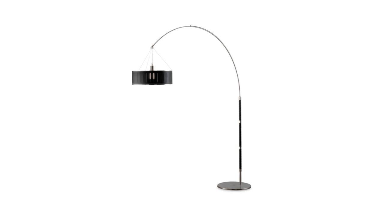 Arc tobia lampadaire d port roche bobois - Lampadaire design roche bobois ...
