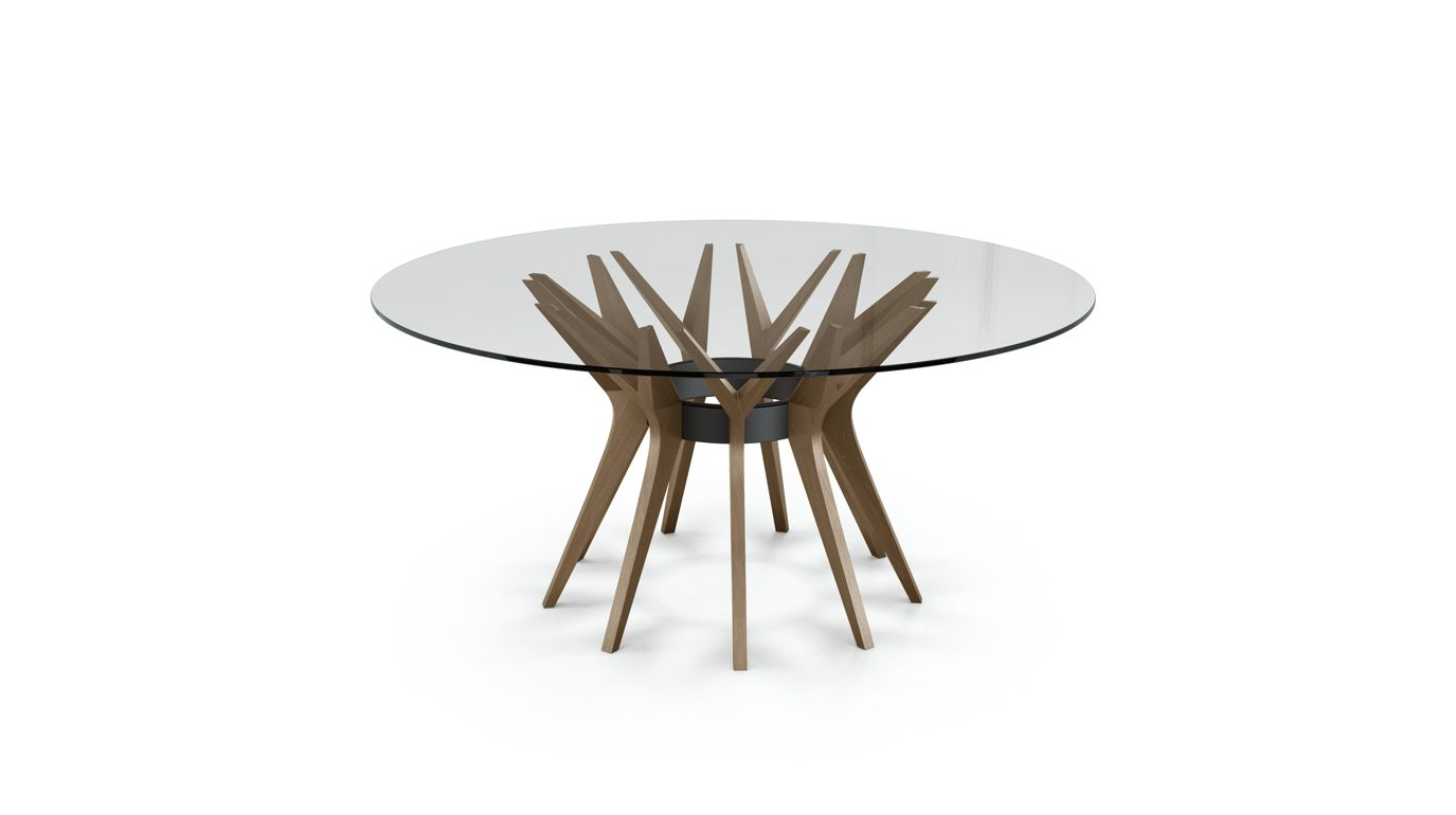 Aster dining table roche bobois for Table salle manger 16 couverts
