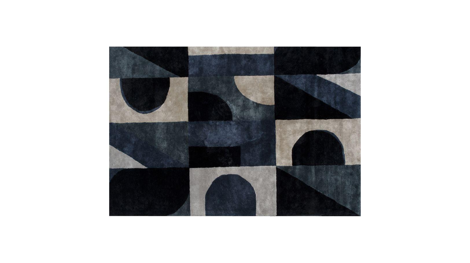 Tapis blue note roche bobois for Tapis contemporain roche bobois