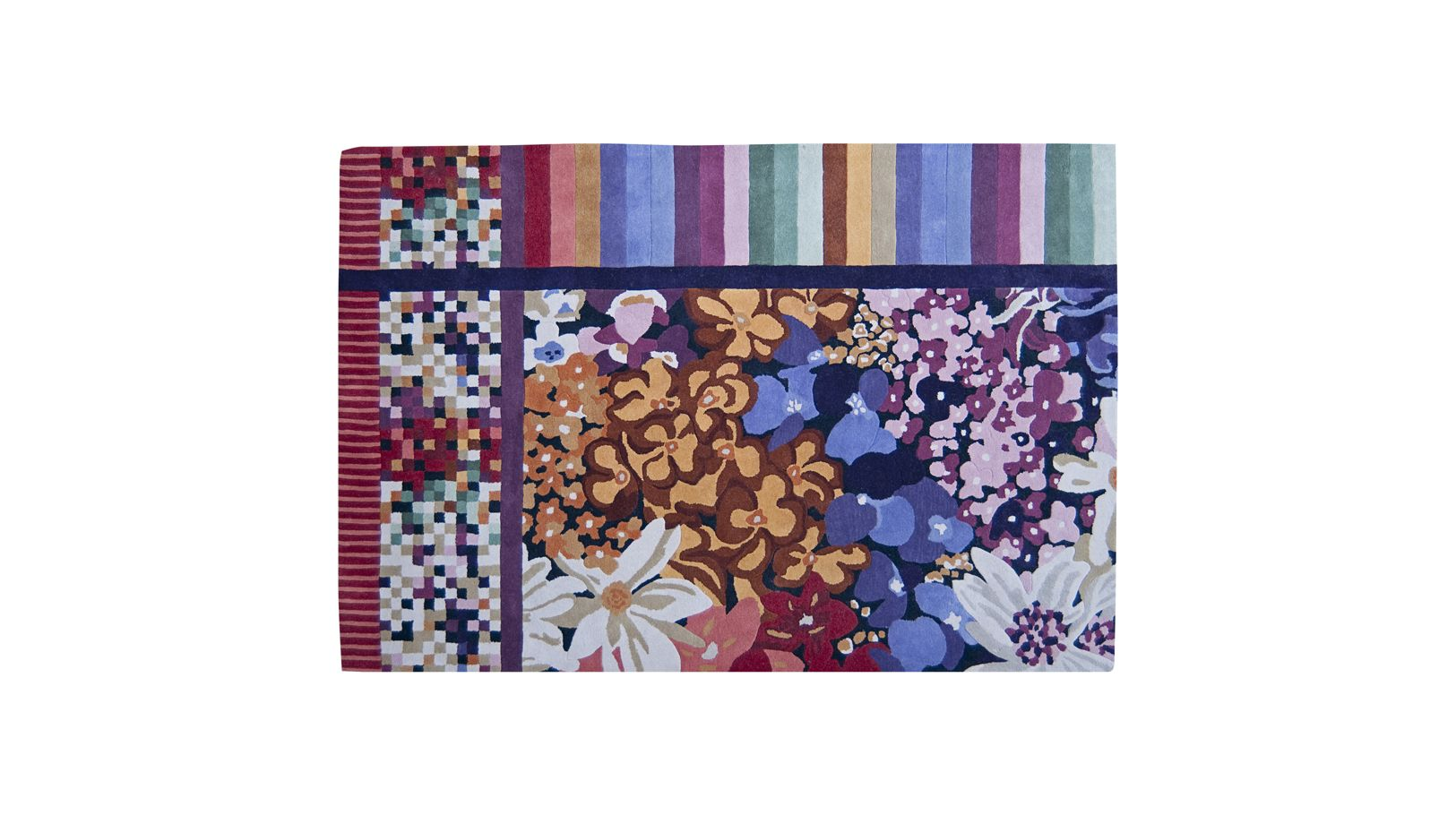patch luanda missoni home tapis roche bobois. Black Bedroom Furniture Sets. Home Design Ideas
