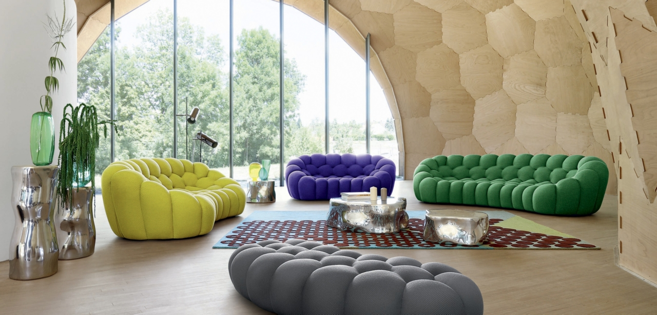 Bubbly Design Co: BUBBLE CURVED 3-4 SEAT SOFA