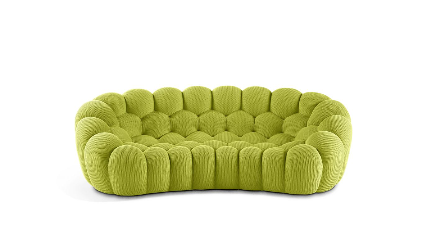 bubble 2 curved 3 4 seat sofa roche bobois. Black Bedroom Furniture Sets. Home Design Ideas