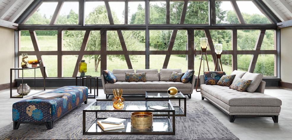 Roche bobois paris interior design contemporary furniture for Canape kenzo