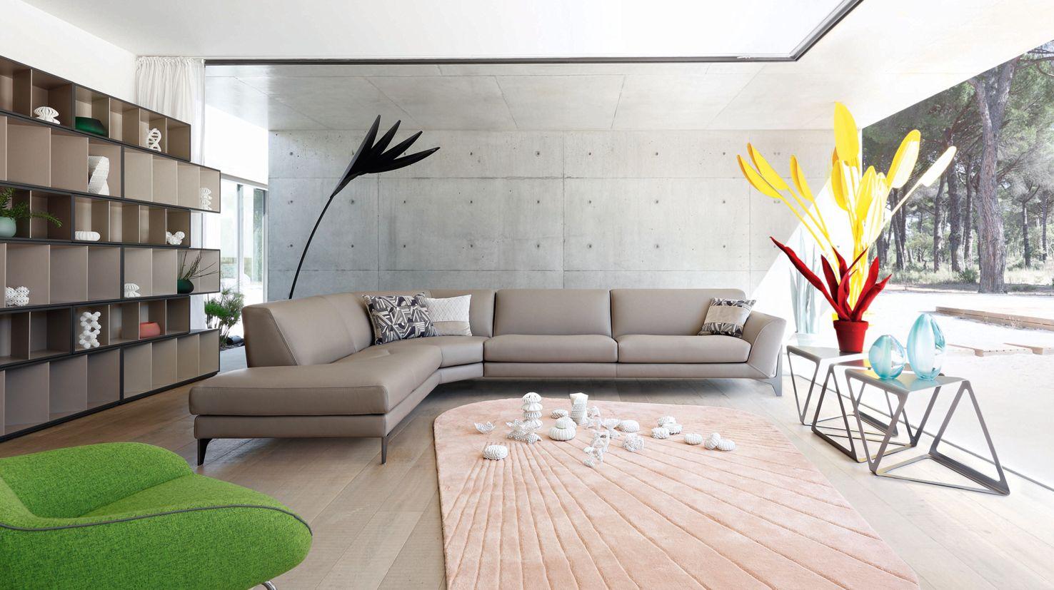 R flexion large 3 seat sofa roche bobois - Sofas de roche bobois ...