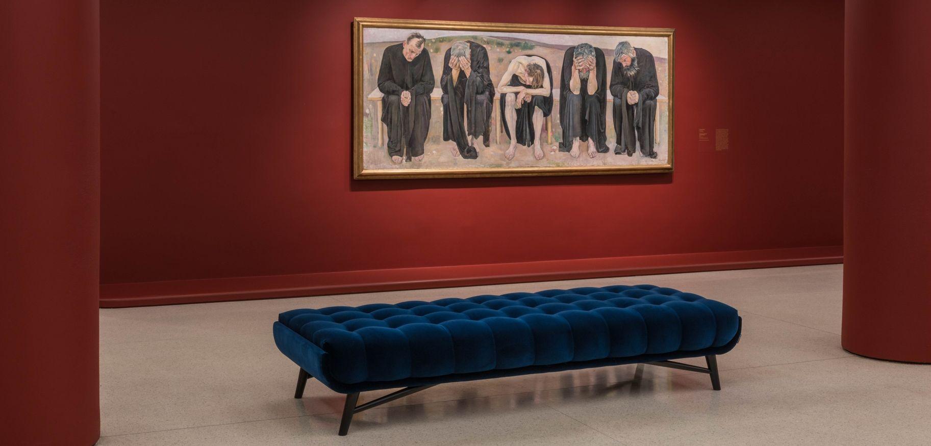 mystical symbolism exhibition roche bobois. Black Bedroom Furniture Sets. Home Design Ideas