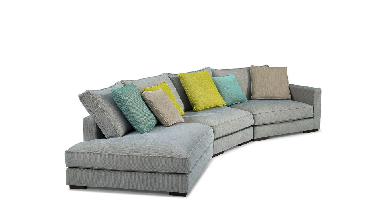 Long island modular sofa nouveaux classiques collection for Sofa 1 80 breit
