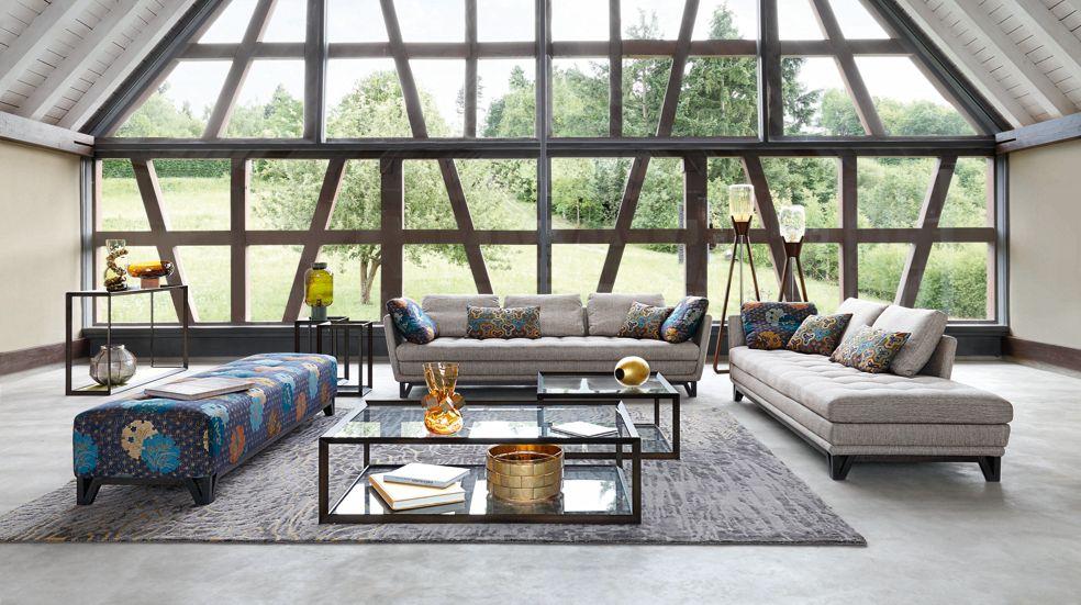 mesa de centro metallica roche bobois. Black Bedroom Furniture Sets. Home Design Ideas