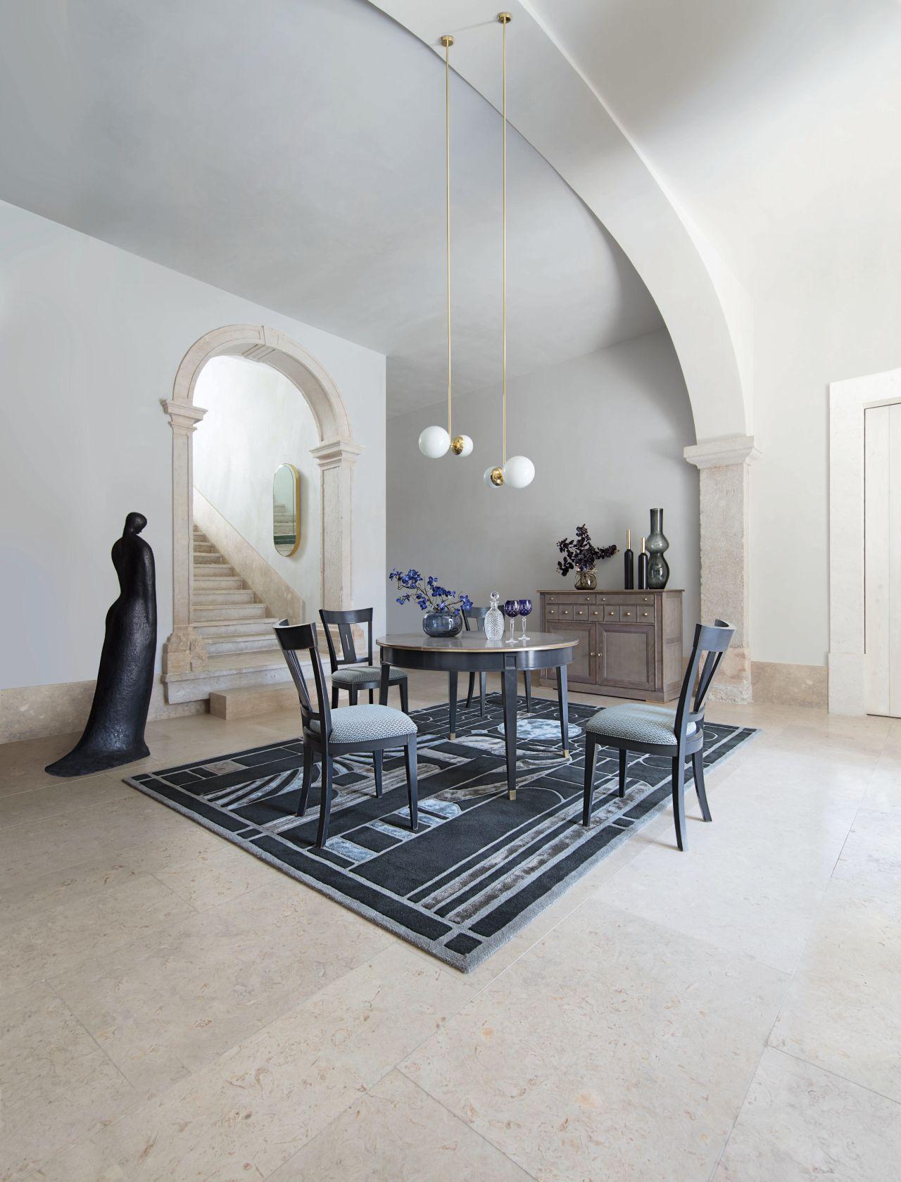 mesa de comedor coupole colecci n nouveaux classiques. Black Bedroom Furniture Sets. Home Design Ideas