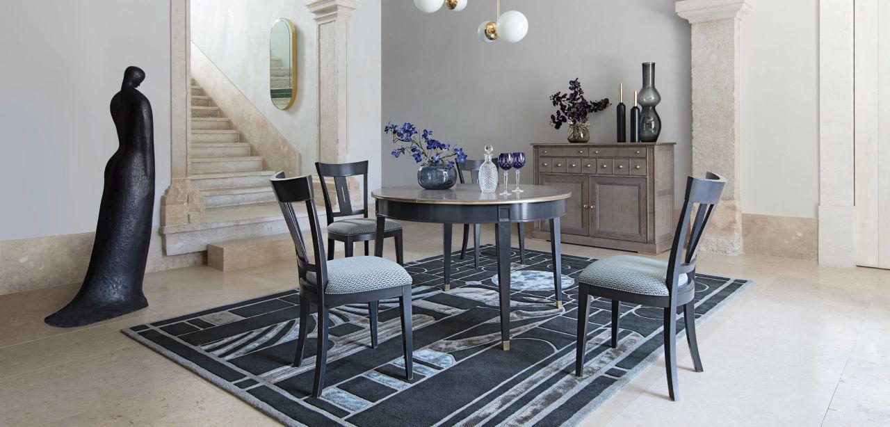 dome silla colecci n nouveaux classiques roche bobois. Black Bedroom Furniture Sets. Home Design Ideas