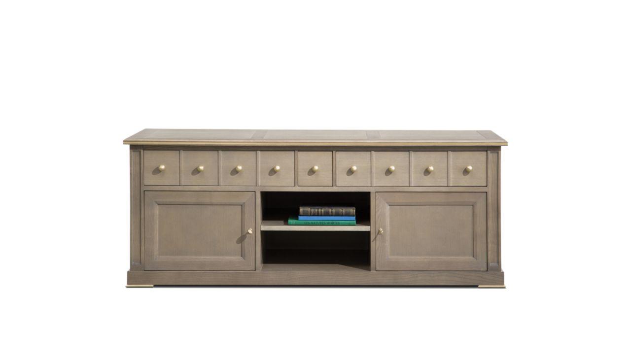 coupole tv unit nouveaux classiques collection roche bobois. Black Bedroom Furniture Sets. Home Design Ideas