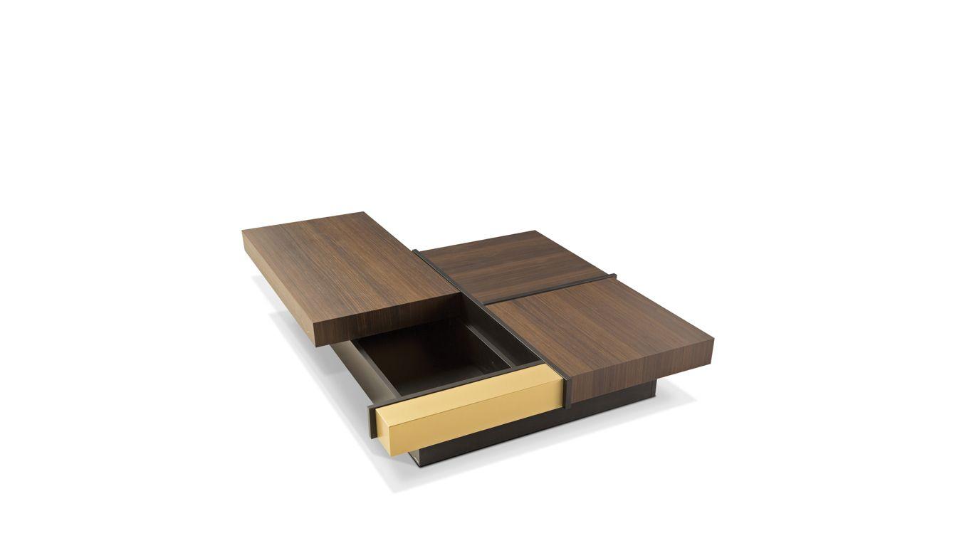 Table basse avec tiroir arthur roche bobois - Table basse roche et bobois ...