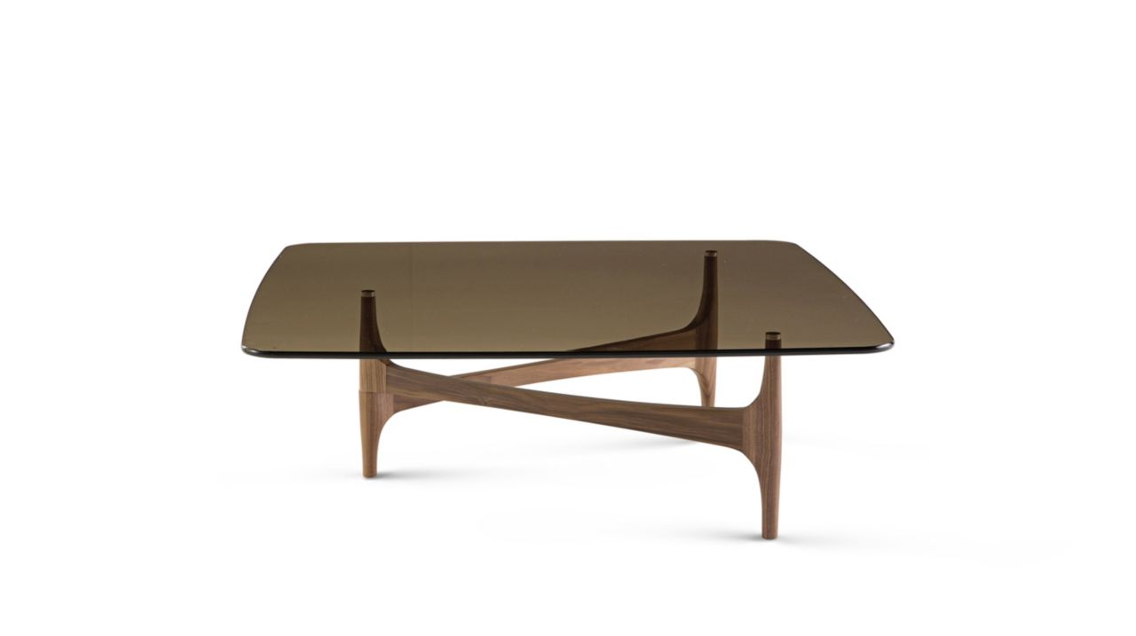 Maya cocktail table roche bobois - Table ovale marbre roche bobois ...