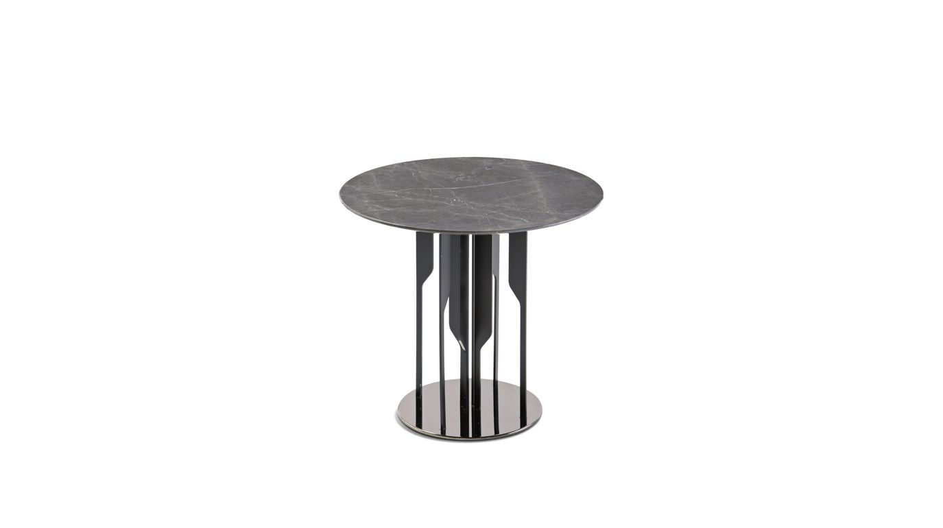 Ivresse end table roche bobois for Table ardoise roche bobois
