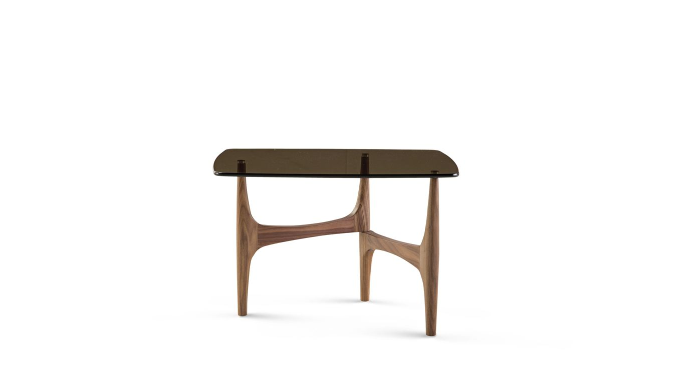 Maya end table roche bobois for Table ardoise roche bobois