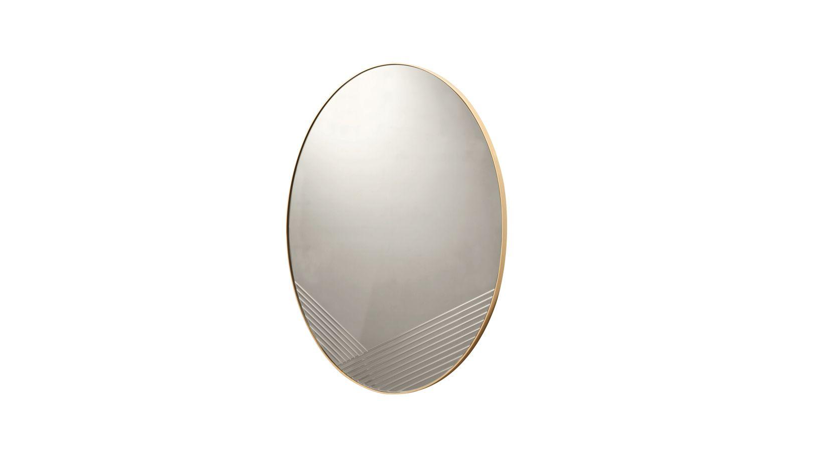 Focused mirror roche bobois for Miroir design roche bobois