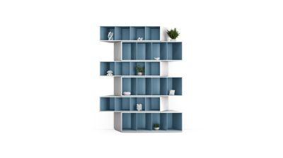 Bookcase   Blue Harmony
