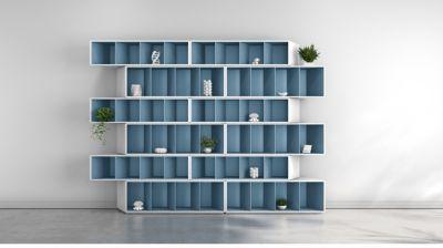Trinta Bookcase Blue Harmony Roche Bobois