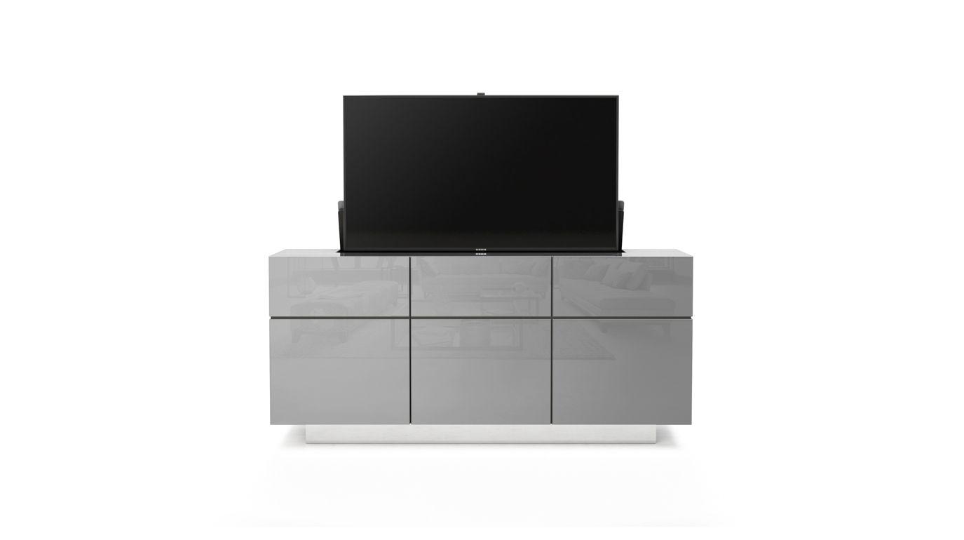 Cache Cache Sideboard With Retractable Tv Roche Bobois