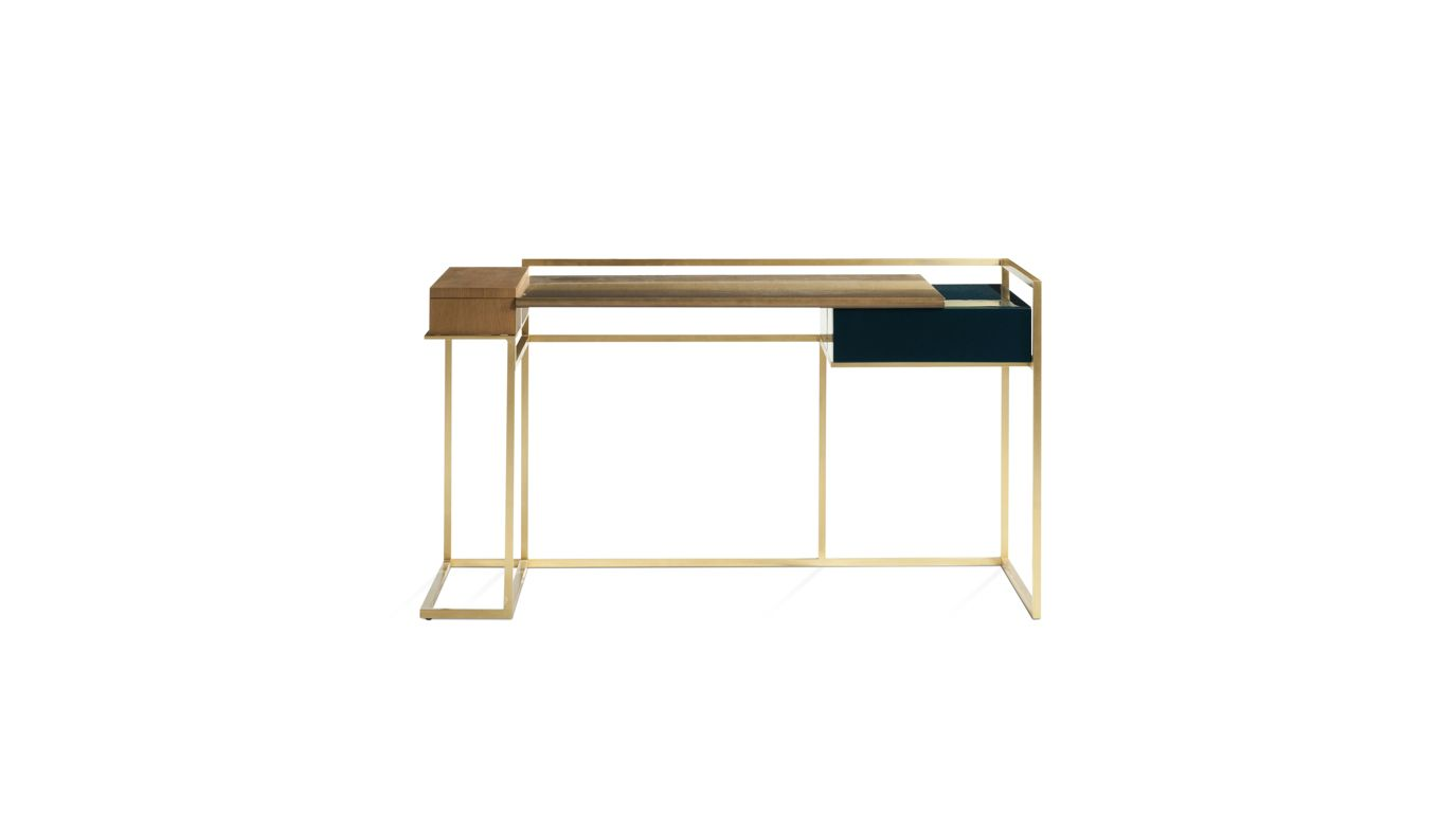 paris paname writing desk nouveaux classiques collection roche bobois. Black Bedroom Furniture Sets. Home Design Ideas