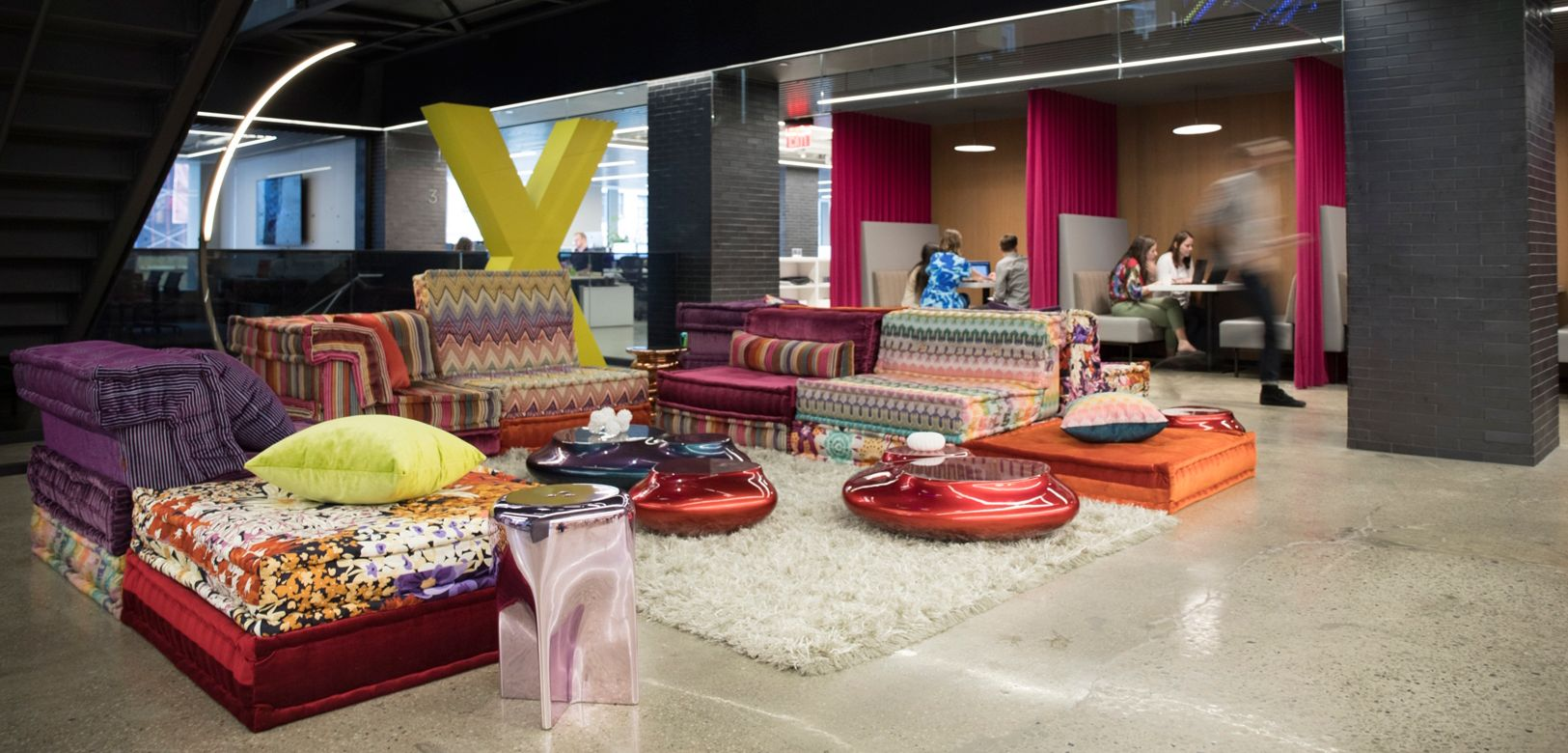Roche Bobois Furnishes Lounge In International