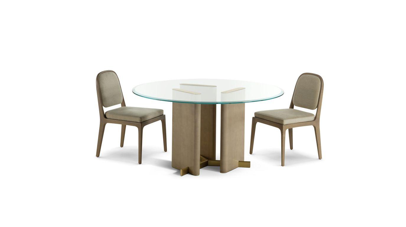 Paris Paname Dining Table Glass Top Tables Roche Bobois