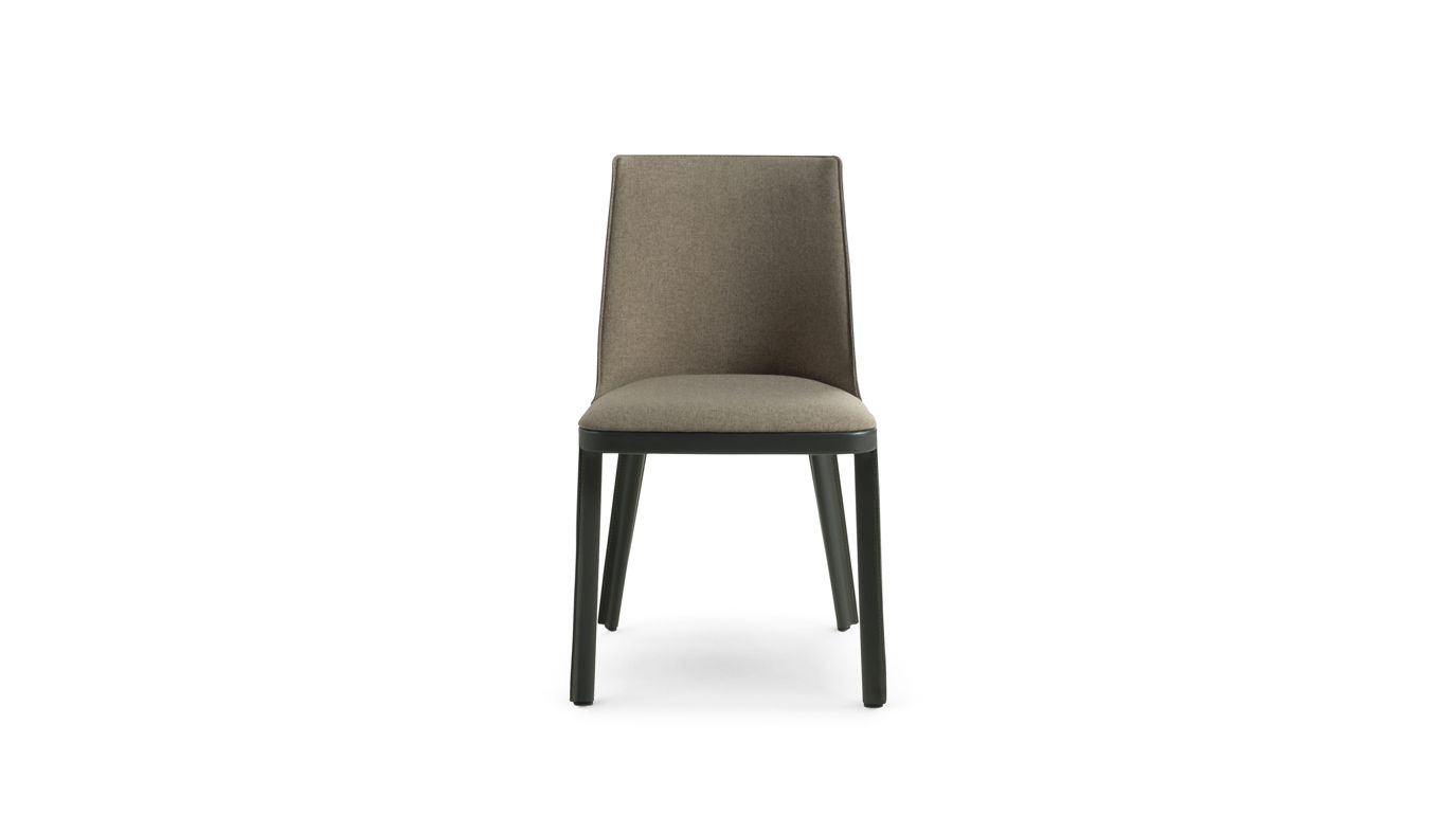 Corset chair roche bobois for Chaise roche bobois cuir