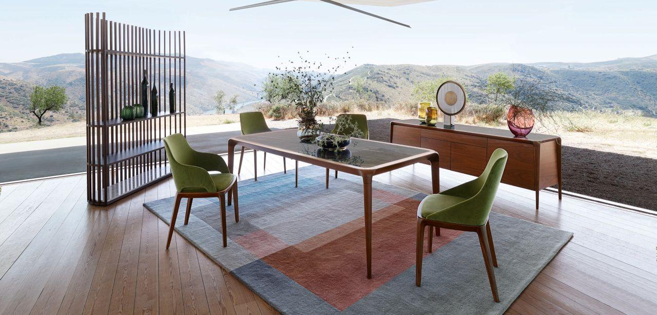 brio dining table roche bobois