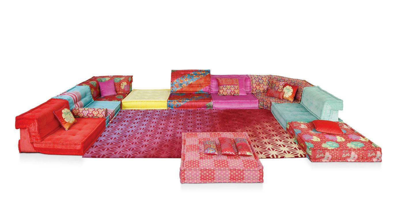 mah jong composition missoni home roche bobois. Black Bedroom Furniture Sets. Home Design Ideas