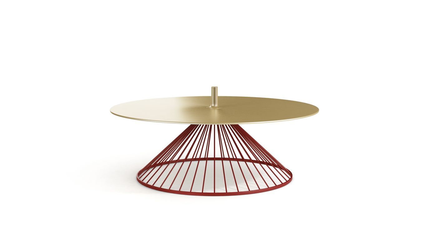 Ombrelle cocktail table roche bobois - Table ovale marbre roche bobois ...