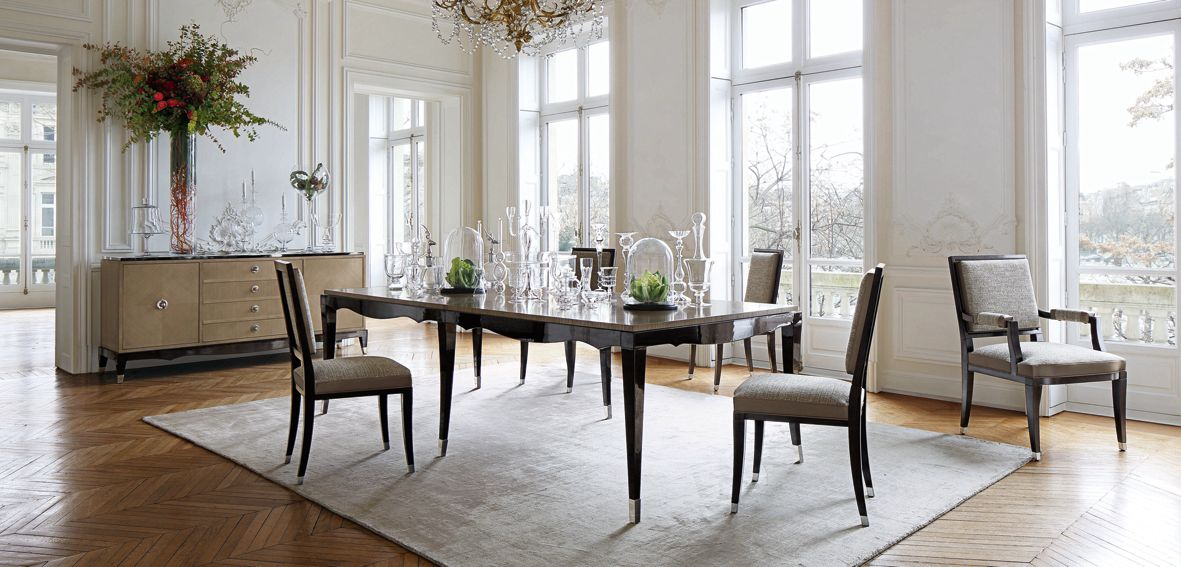 GRAND HOTEL DINING TABLE Nouveaux Classiques Collection