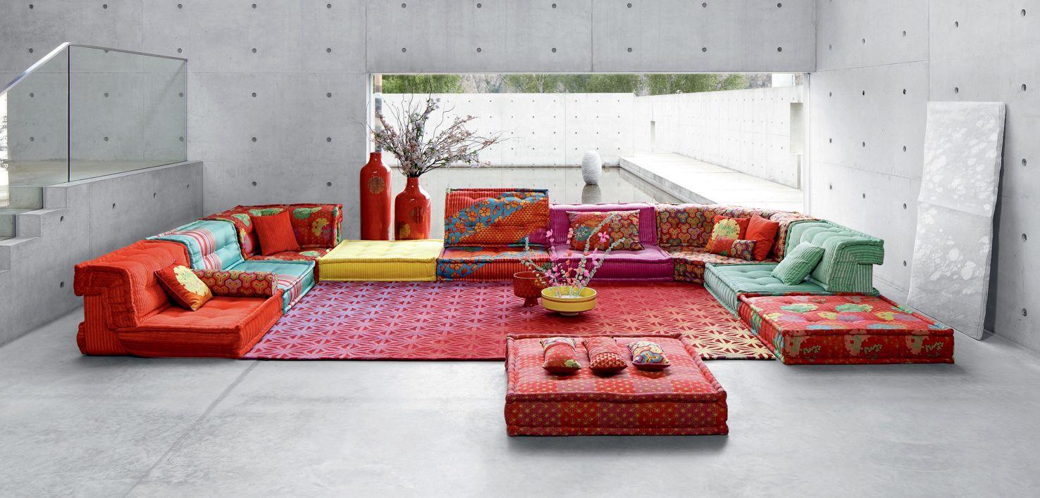 mah jong composition hiru kenzo takada roche bobois. Black Bedroom Furniture Sets. Home Design Ideas
