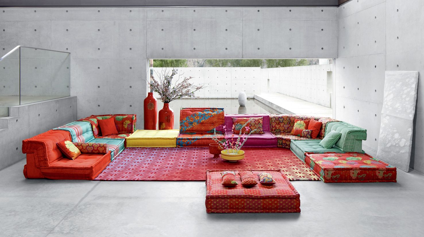 MAH JONG COMPOSITION Missoni Home - Roche Bobois