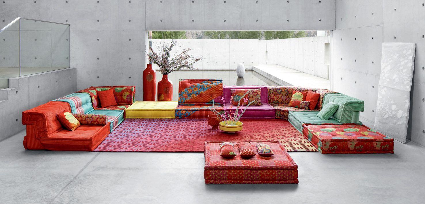 mah jong sofa roche bobois. Black Bedroom Furniture Sets. Home Design Ideas