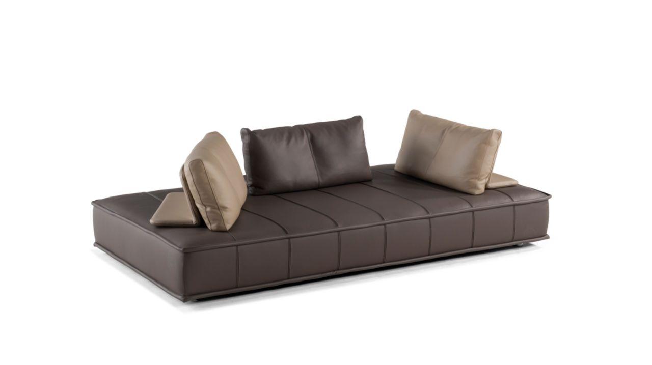 escapade cuir gran sof 3 pl roche bobois. Black Bedroom Furniture Sets. Home Design Ideas