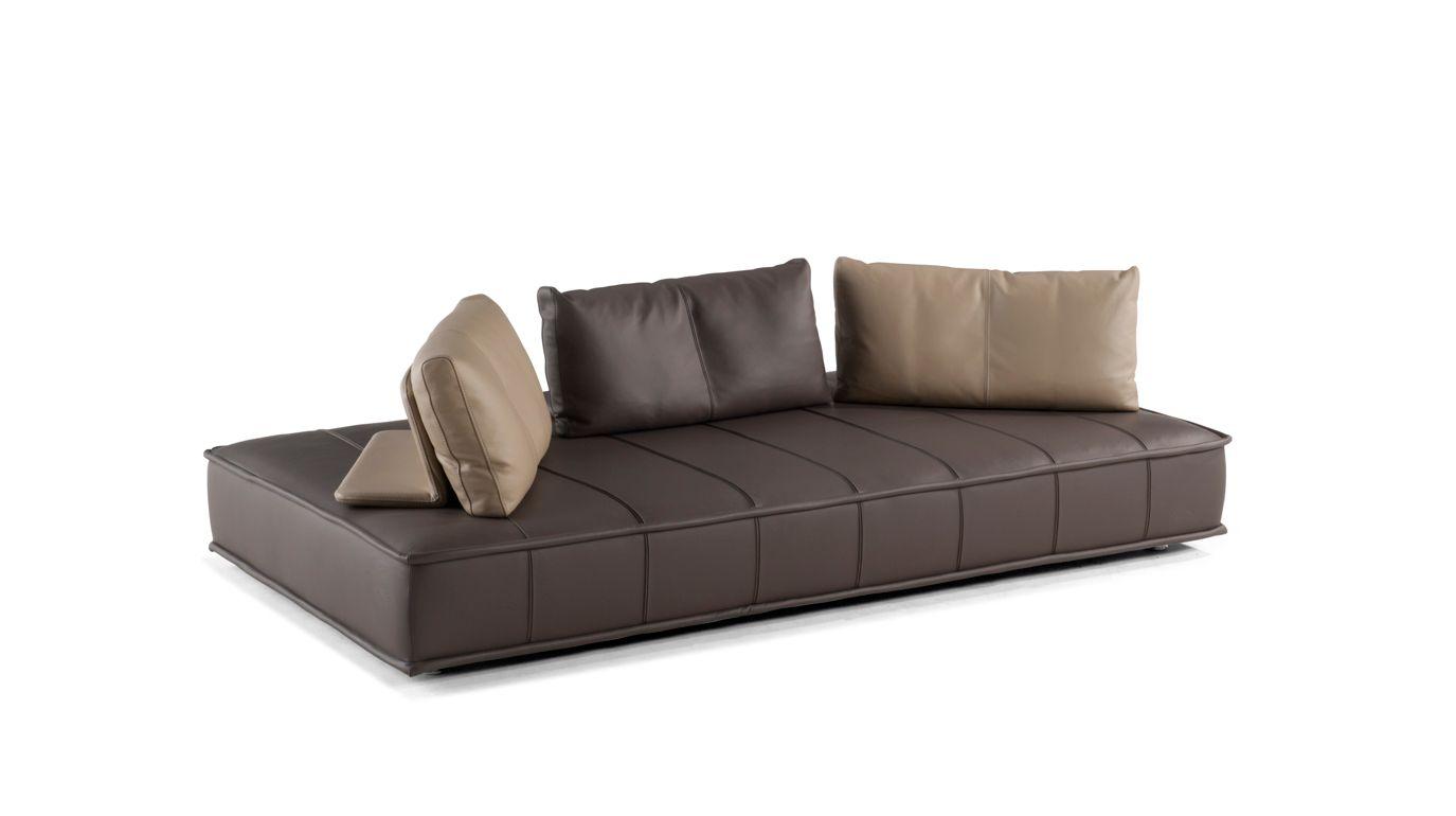 Escapade cuir grande divano 3p roche bobois - Divano roche bobois ...