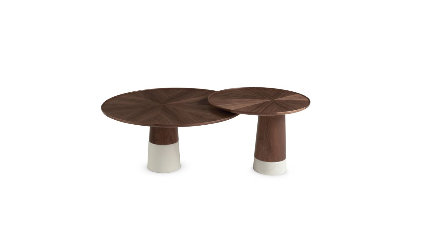 Colorado end table roche bobois - Table basse verre roche bobois ...