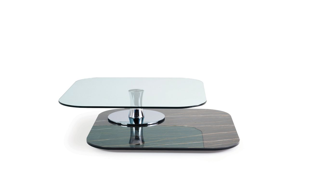 Curling ceramique table basse roche bobois - Table basse ceramique design ...