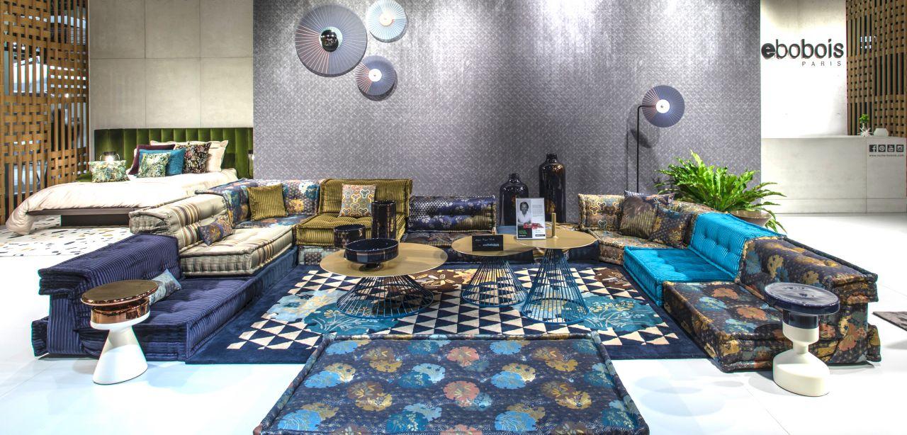 imm show cologne 2018 roche bobois. Black Bedroom Furniture Sets. Home Design Ideas