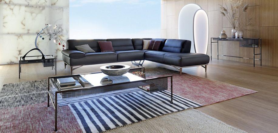 agrafe couchtisch roche bobois. Black Bedroom Furniture Sets. Home Design Ideas