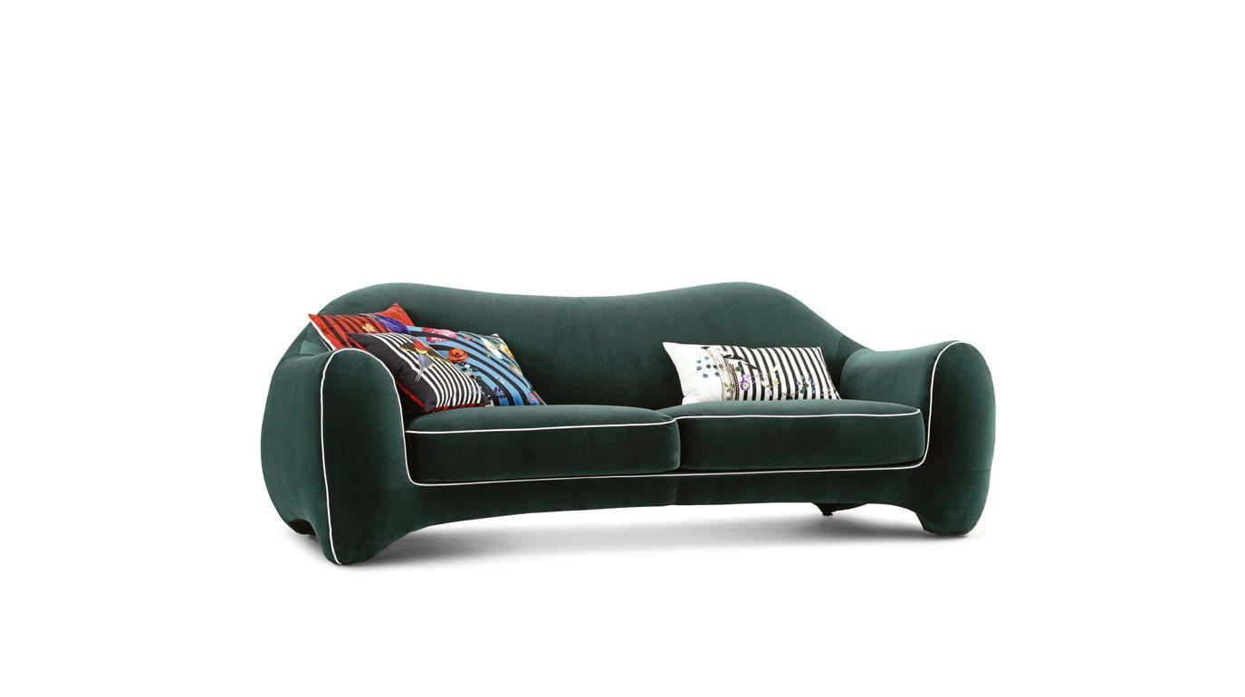 maison lacroix divano 3 posti maxi collezione nouveaux classiques roche bobois. Black Bedroom Furniture Sets. Home Design Ideas