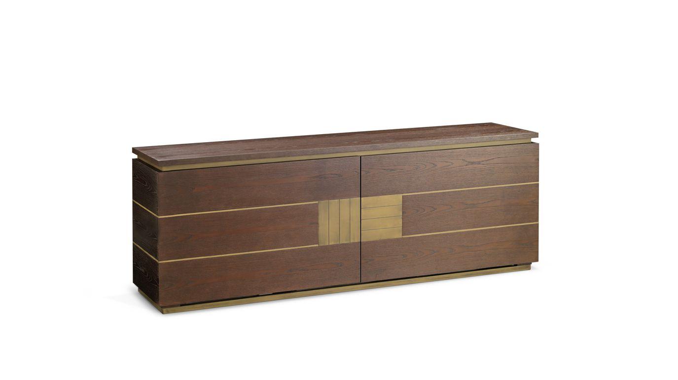 alliance buffet collection nouveaux classiques roche bobois. Black Bedroom Furniture Sets. Home Design Ideas