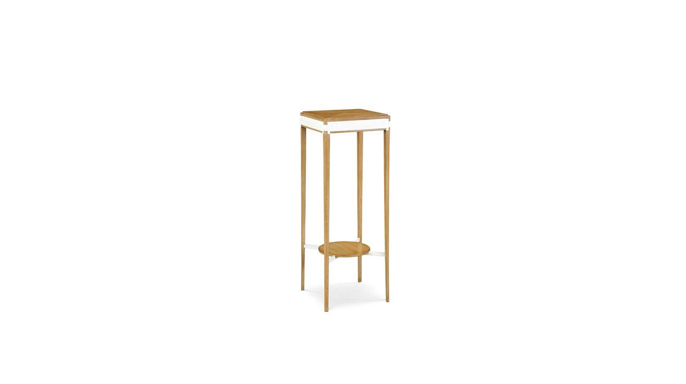 Claridge pedestal table nouveaux classiques collection - La roche bobois table ...