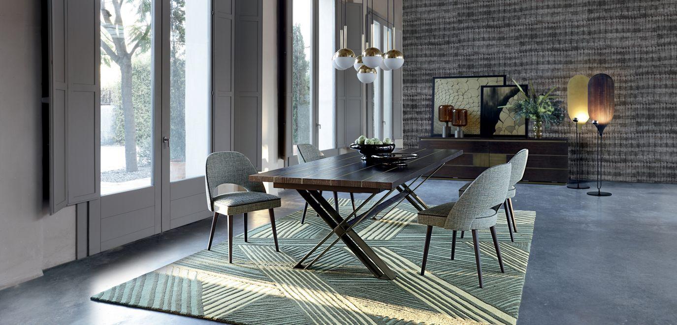 Alliance tavolo da pranzo collezione nouveaux classiques for Arredamento pari