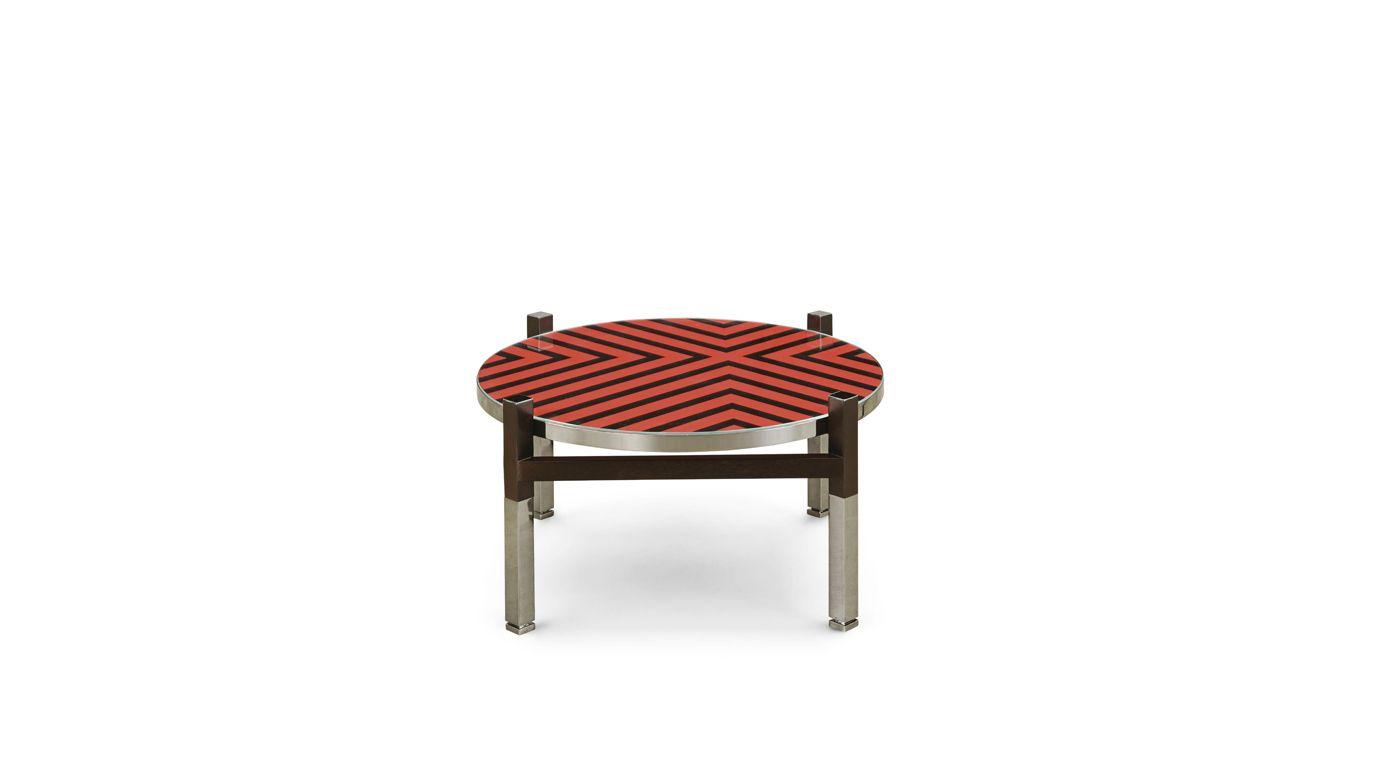 Maison lacroix finition onyx cocktail table nouveaux - La roche bobois table ...