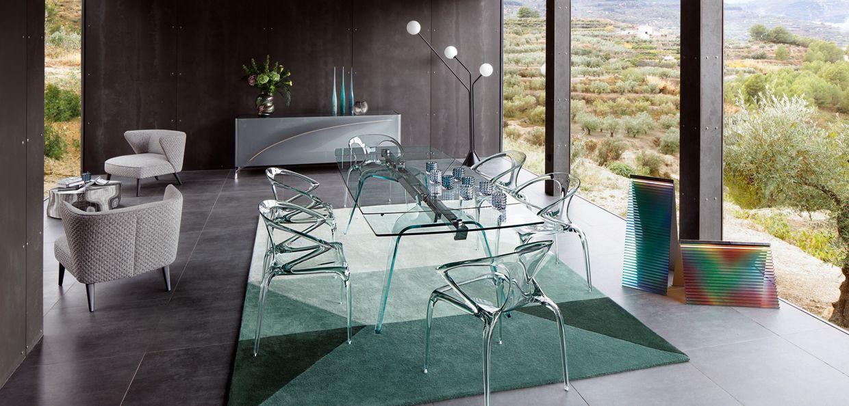 Roche bobois paris interior design contemporary furniture for Miroir design roche bobois