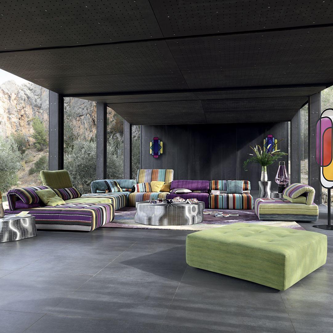 VOYAGE IMMOBILE Modul-Sofa - Roche Bobois