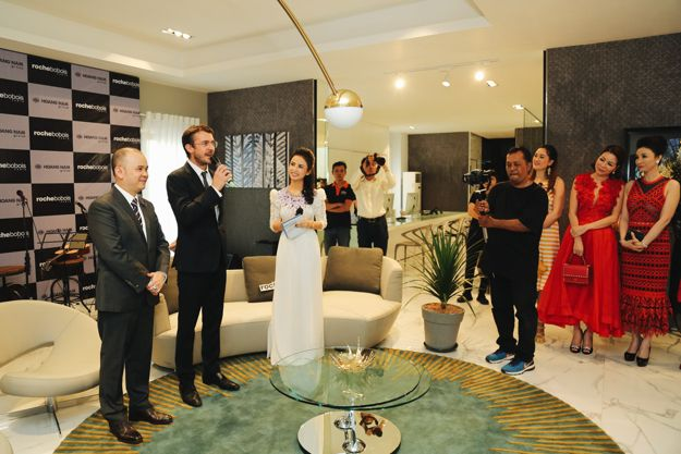roche bobois ouvre son premier magasin au vietnam roche bobois. Black Bedroom Furniture Sets. Home Design Ideas