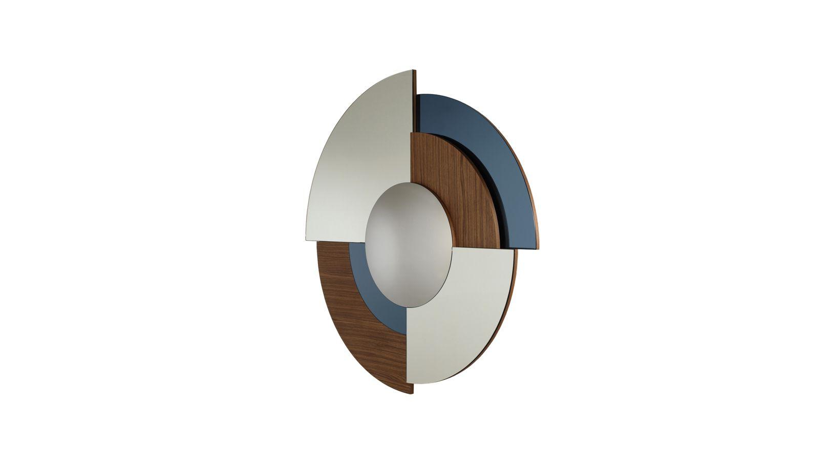 Merlin miroir roche bobois for Miroir design roche bobois