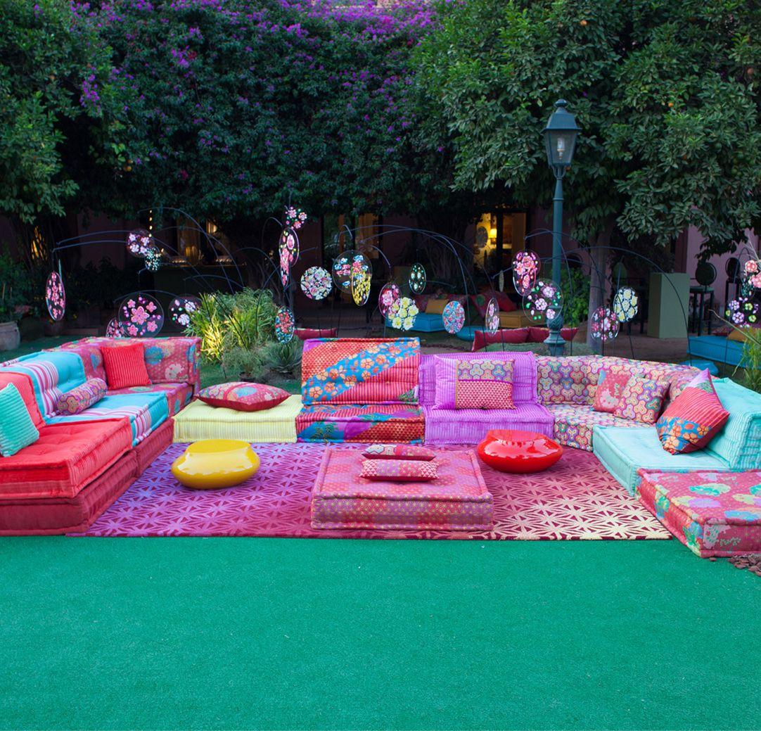KENZO TAKADA in Marokko geehrt - Roche Bobois