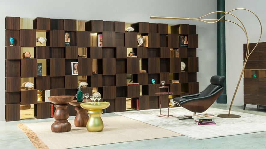 Bibliotheques Compositions Murales Roche Bobois